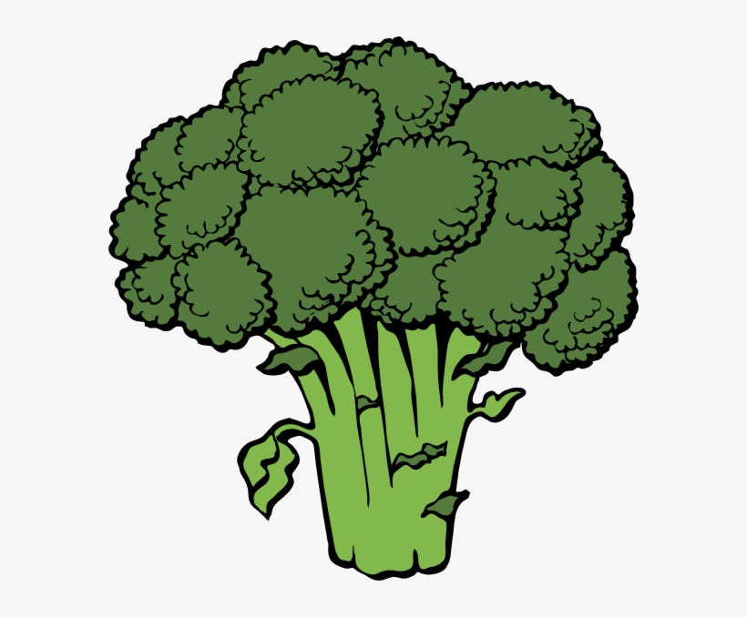 Png Free Stock Vegetable Free Broccoli Clip Art Vector.