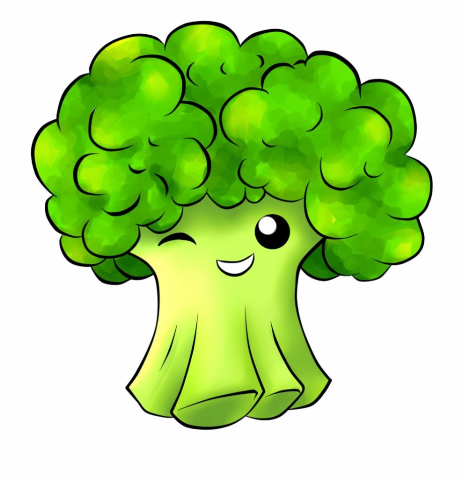 Broccoli Clipart Animated Cute Broccoli Png.