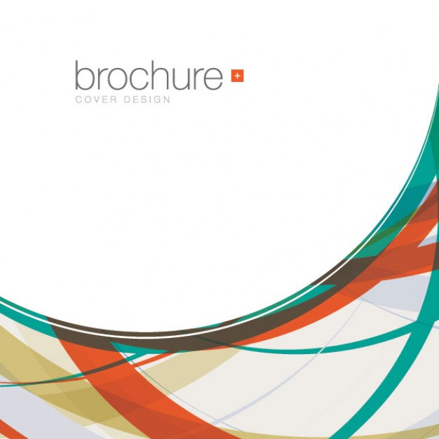 Abstract brochure background Vector.