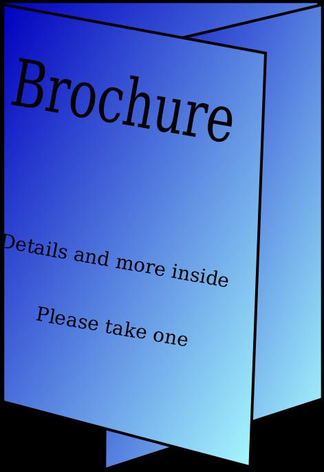 Brochure clipart #6
