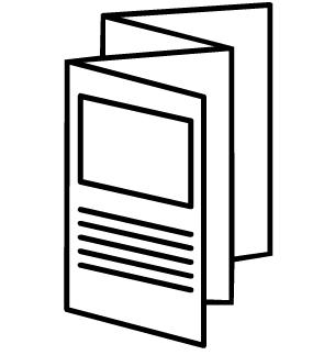 Brochure Clipart.