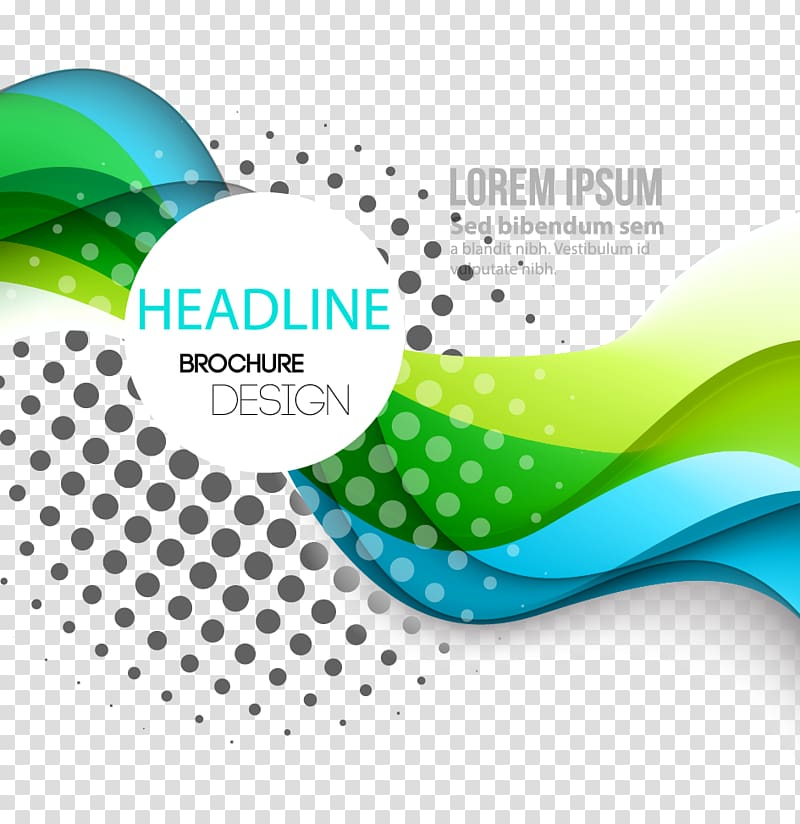 Dynamic fashion curve lines background material, of Headline.