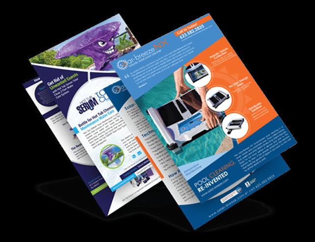 Custom Professional Brochure Design Service USA.