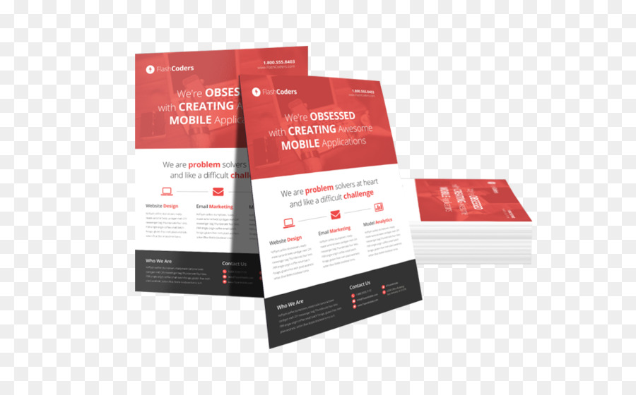 Flyer Template png download.