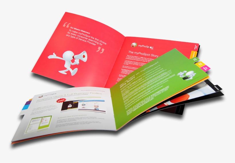Creative Brochure Designing Transparent PNG.