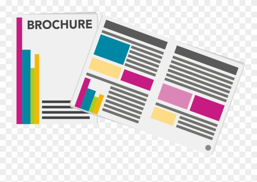 Brochure, Creative, Design, Illustrator Icon.