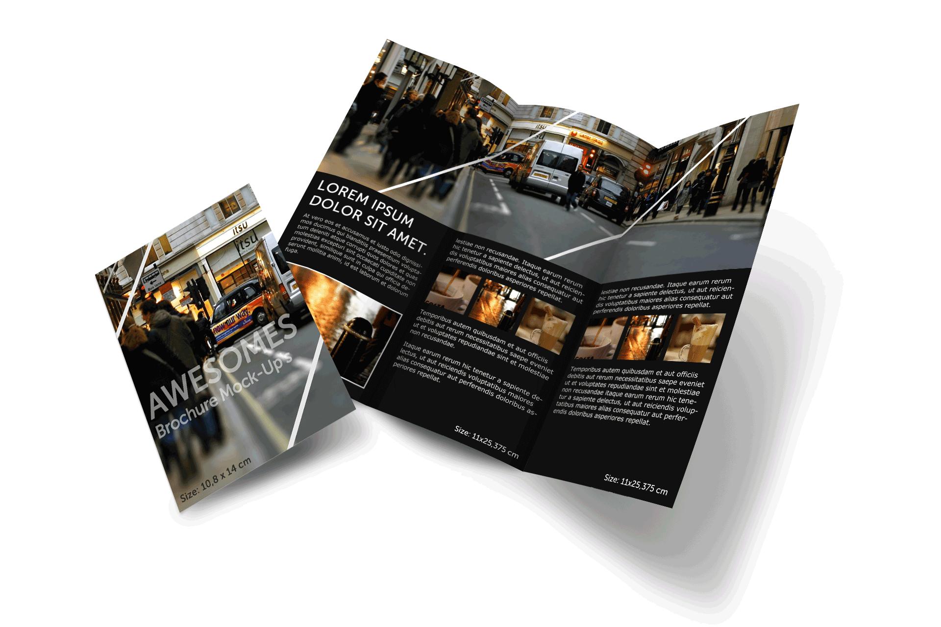 Brochure PNG Transparent Image.