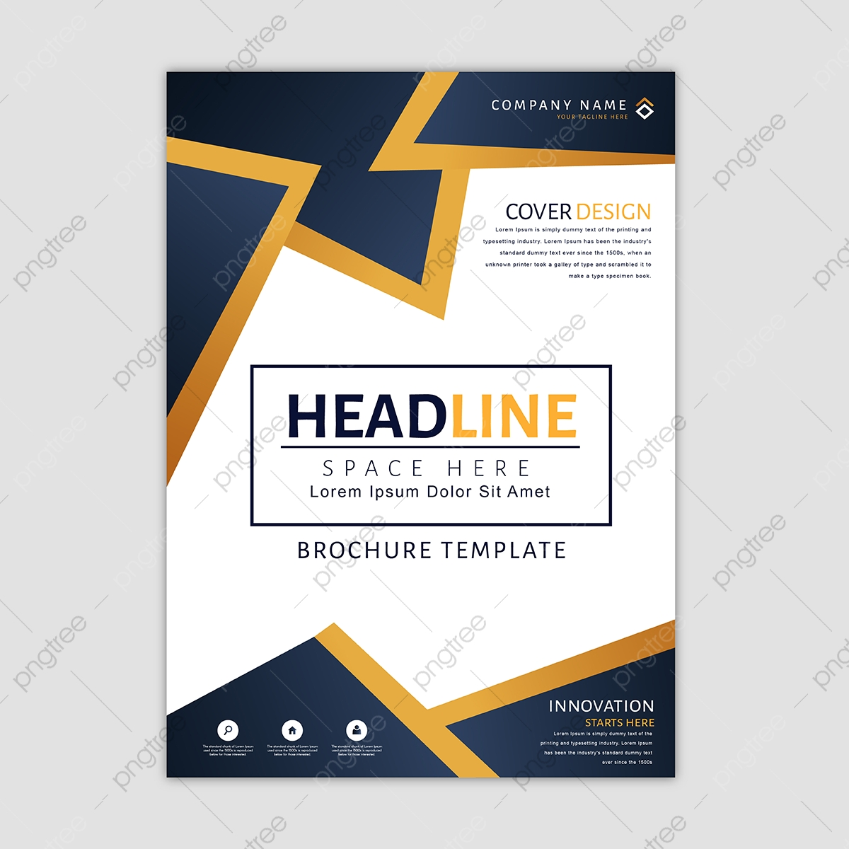 Business Brochure Template, Background, Wallpaper, Backdrop PNG and.