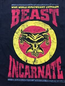 Details about Brock Lesnar The Beast Incarnate T Shirt S Small WWE Back to  Break More NXT UFC.