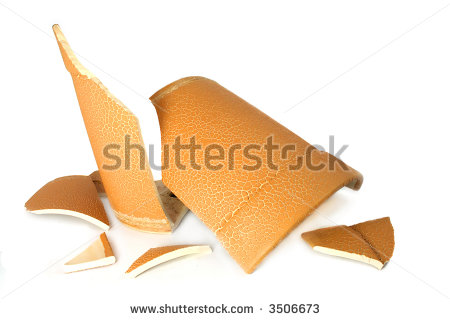 Broken Vase Stock Photos, Royalty.