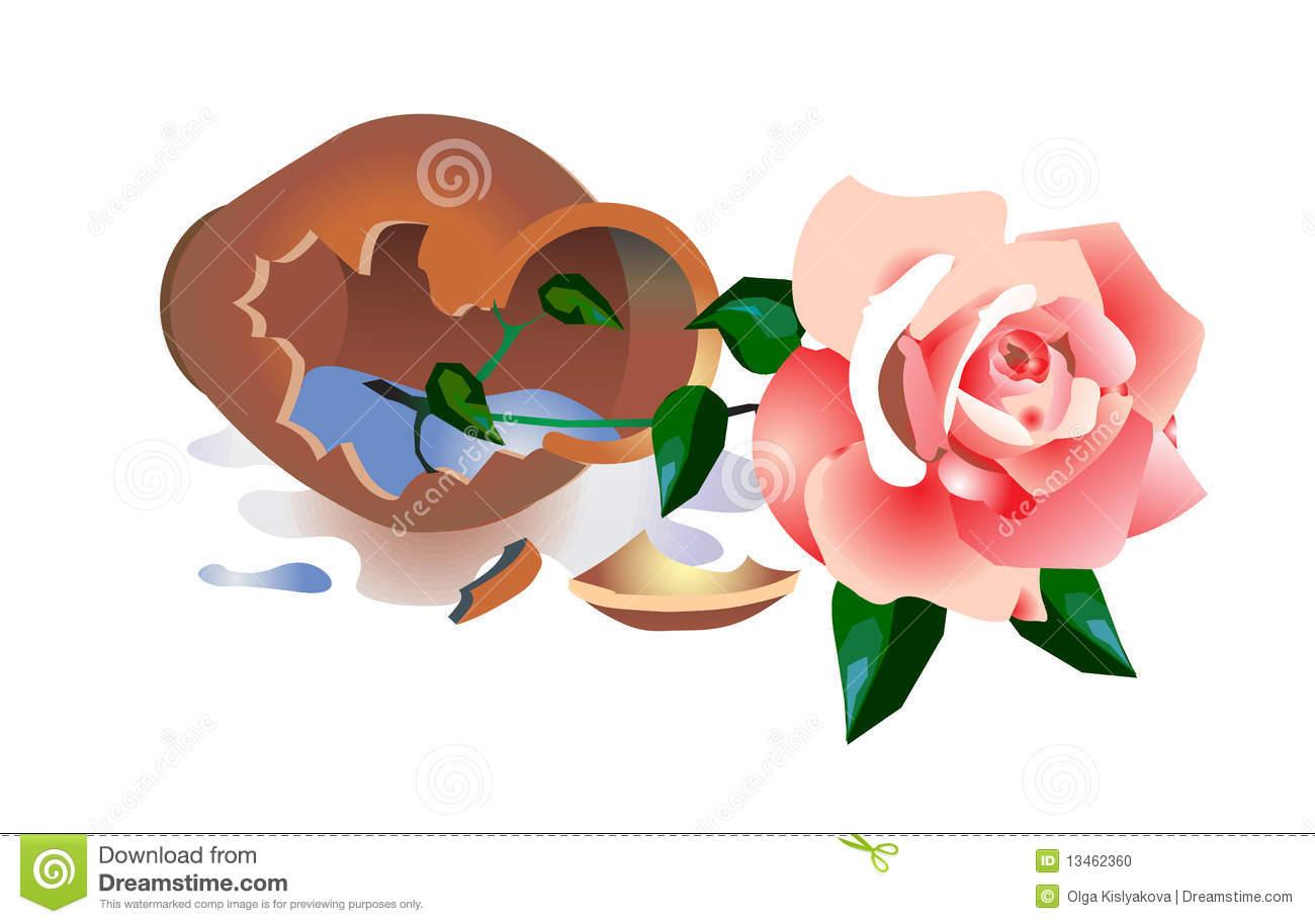 Vase clipart no background no flower.