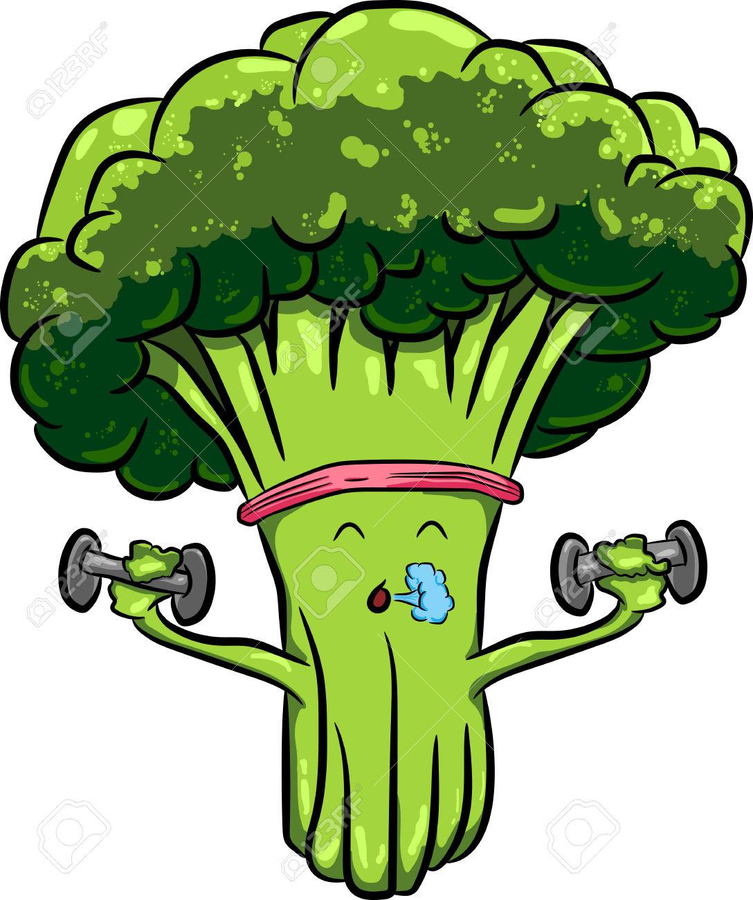 Broccoli Clipart for free.