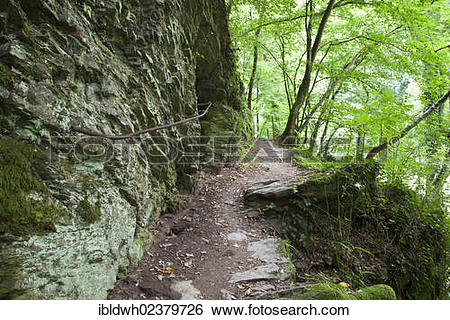 "Stock Images of ""Traumschleifen, dream loops, hiking trail in."