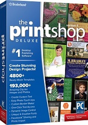 Broderbund 8129655 The Print Shop Deluxe 4.0 for Windows (Download.