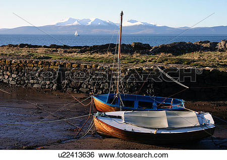 Stock Images of Scotland, Ayrshire, Portencross, Portencross.