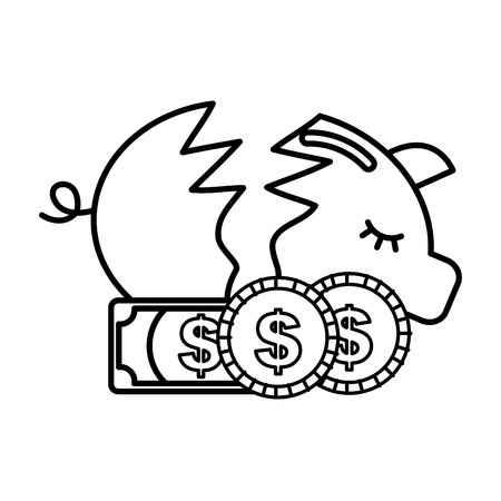 343 Dollar Broke Stock Vector Illustration And Royalty Free Dollar.