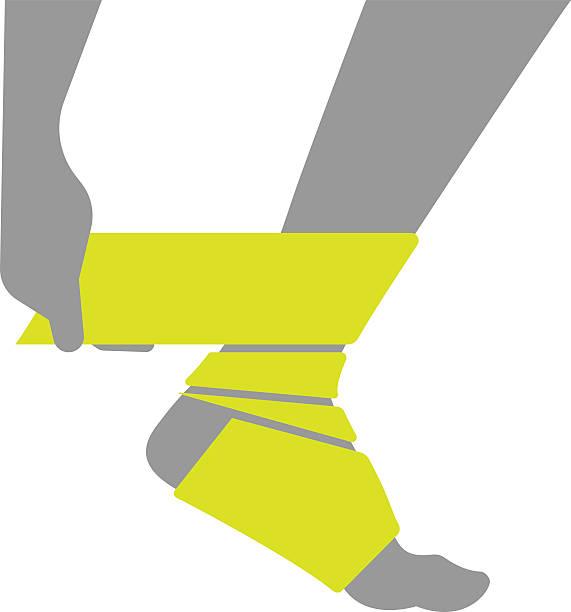 Best Broken Ankle Illustrations, Royalty.