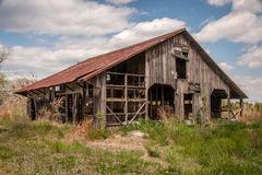 Broken Down Barn 2 Royalty Free Stock Photography.