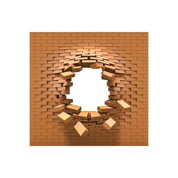 Broken Brick Wall PNG Transparent Broken Brick Wall.PNG.