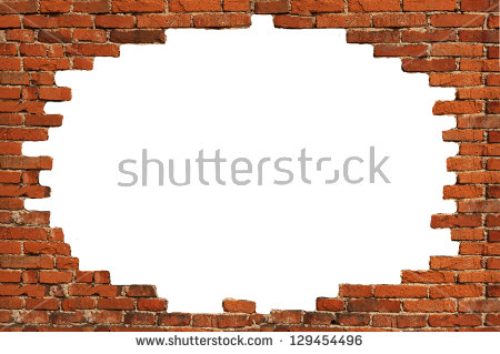 Broken Brick Wall PNG Transparent Broken Brick Wall.PNG Images.