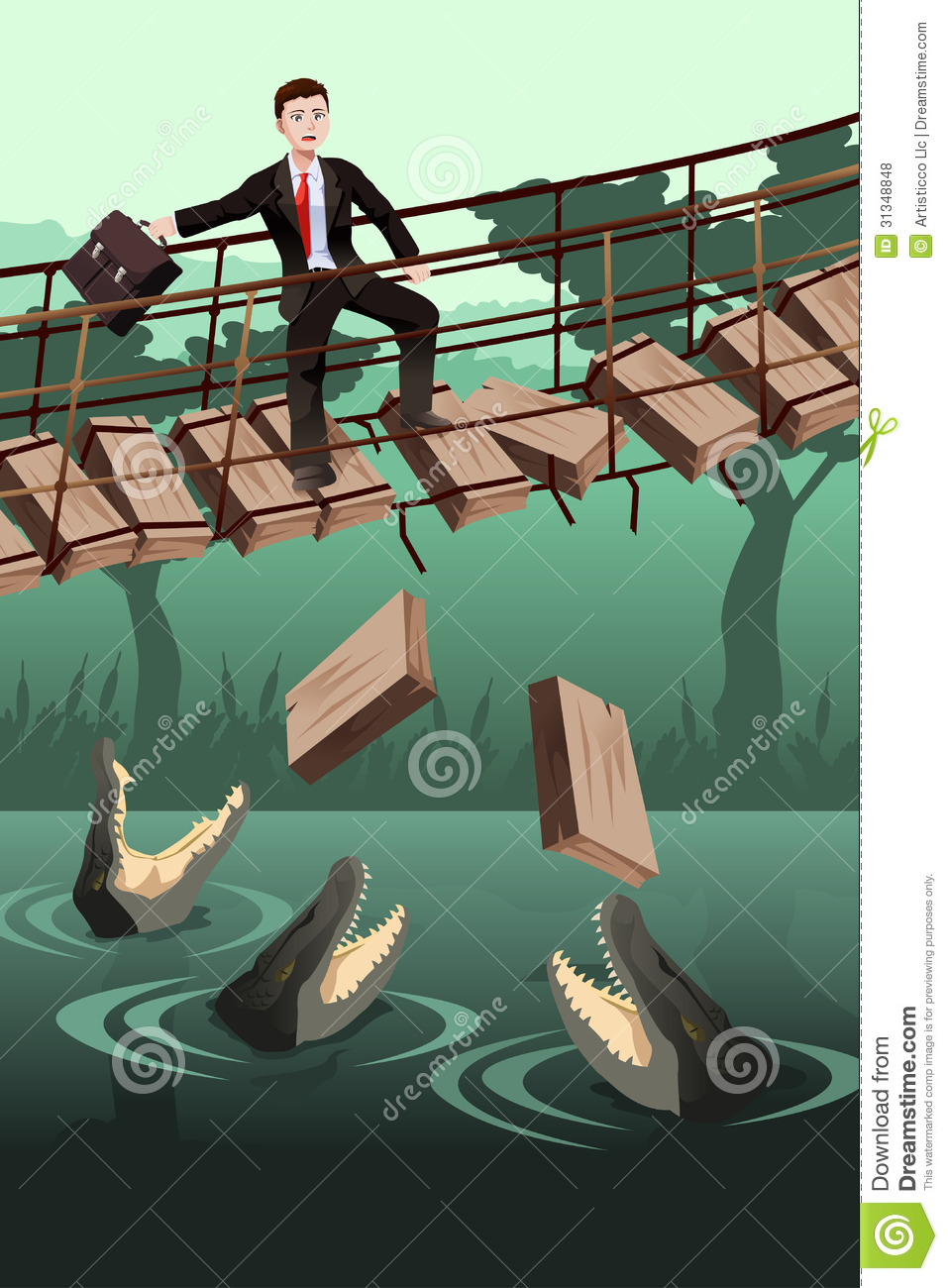 Business Risk Concept Royalty Free Stock Photos.