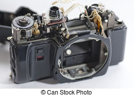 Camera lens broken. Camera lens has been dropped and shattered ..