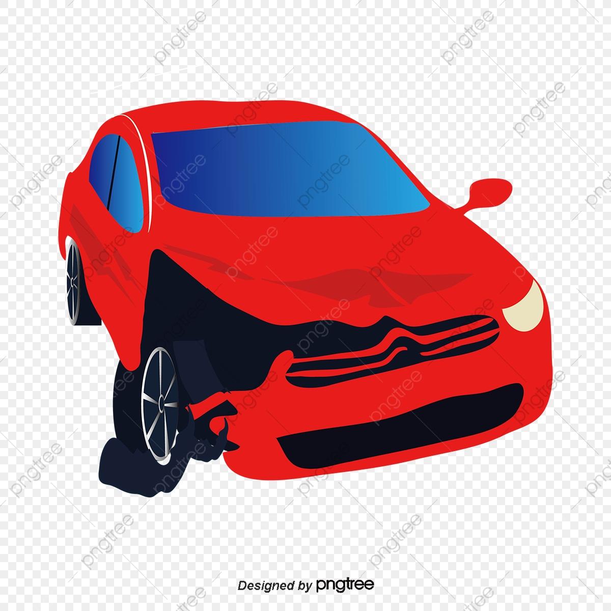 Broken Car, Car Clipart, Car, Vector PNG and Vector with Transparent.