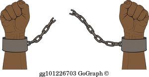 Broken Chain Clip Art.