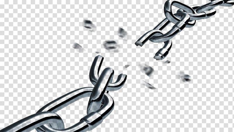 Broken Chains: A Guide to Spiritual Warfare , chain transparent.