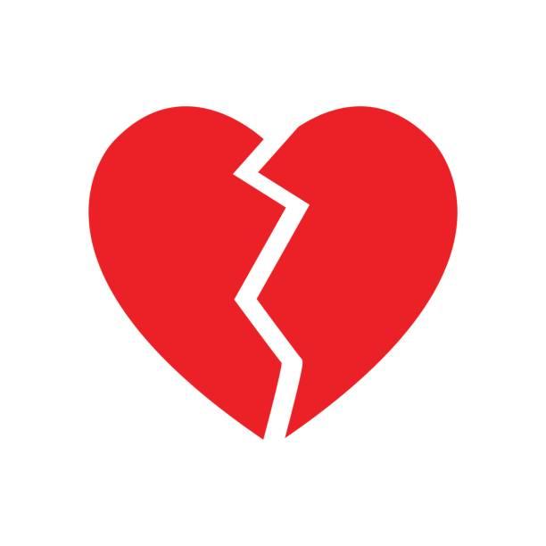 Best Broken Heart Illustrations, Royalty.