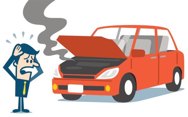 Best Broken Down Car Illustrations, Royalty.