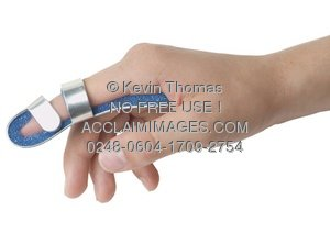 broken finger clipart & stock photography.