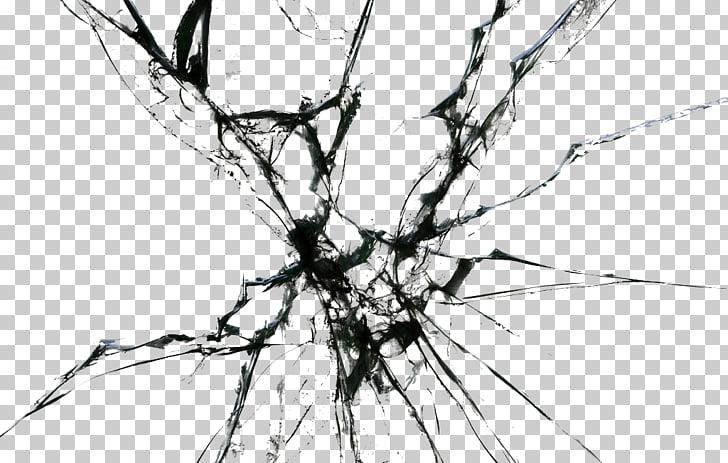 Window Glass, Broken glass HD , gray cracked illustration.
