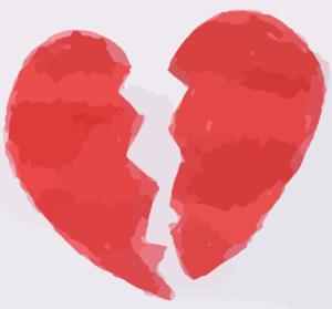 Broken Heart Clip Art at Clker.com.