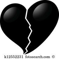 Broken heart Clip Art and Illustration. 4,530 broken heart clipart.
