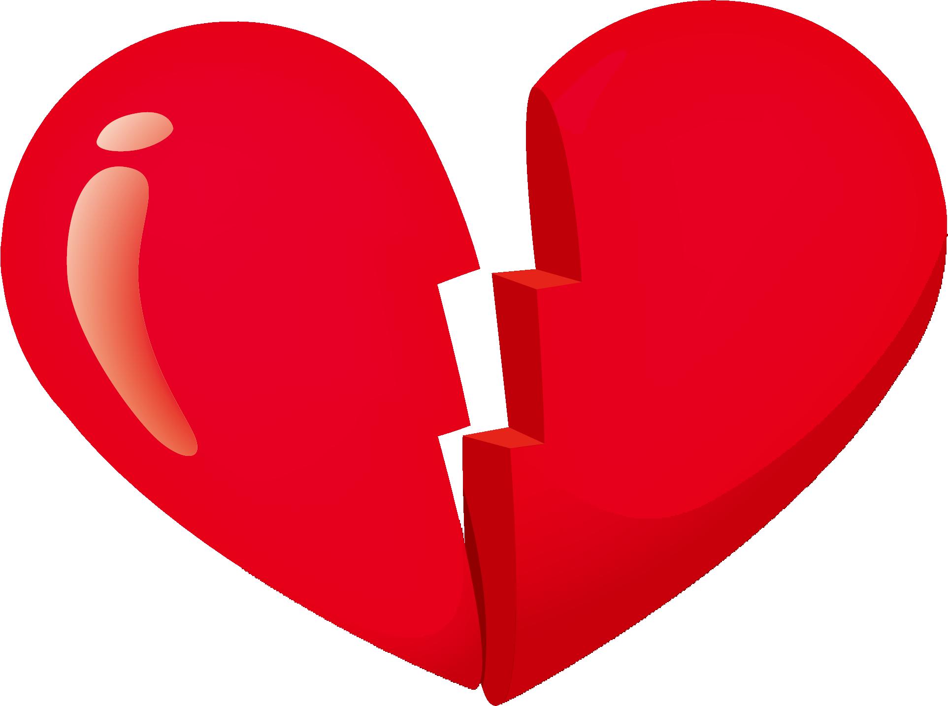 Broken Heart Clipart Png.