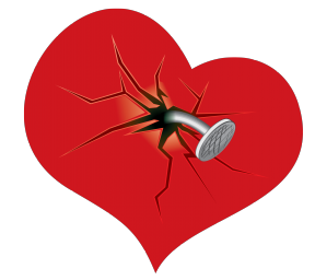 Broken Heart Clipart Transparent.