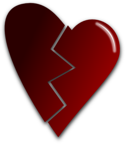Broken Heart Clip Art at Clker.com.