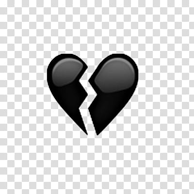 Emojis Editados, heart broken transparent background PNG.