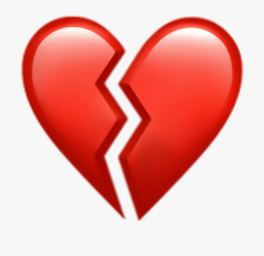 Broken Heart Clipart Picsart.