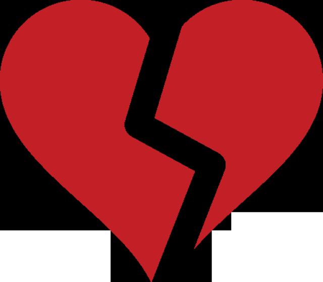 Broken Heart Clipart.