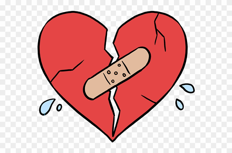 How To Draw Broken Heart Clipart (#2335674).