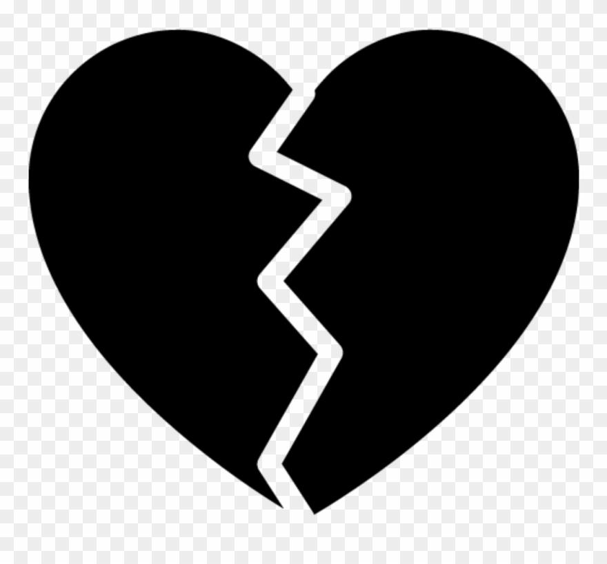 Broken Heart Clipart Picsart.