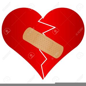 Free Broken Heart Clipart.