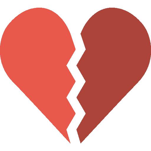 Download Broken Heart PNG File.