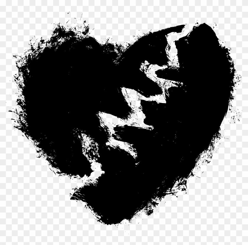 Drawn Broken Heart Transparent.