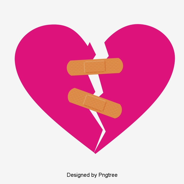 Broken Heart Png, Vector, PSD, and Clipart With Transparent.