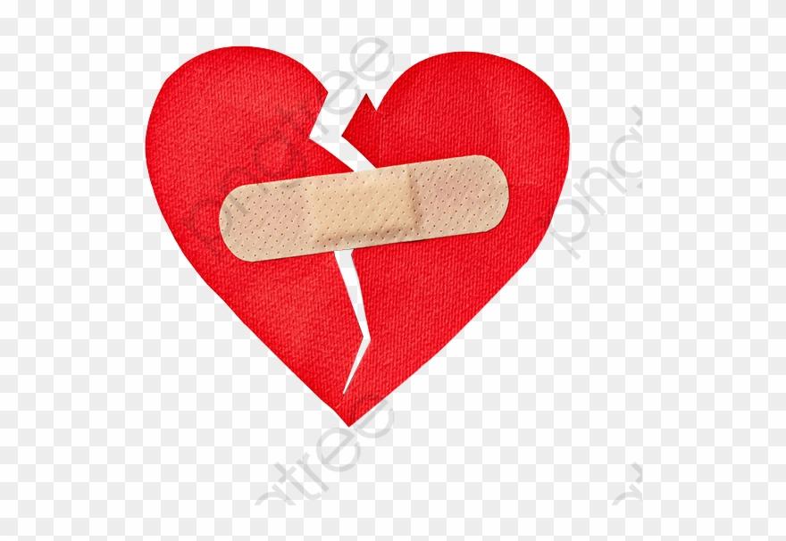 Broken Heart Broken Heart Clipart Bandaid.