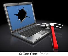 Broken laptop Stock Photo Images. 2,638 Broken laptop royalty free.