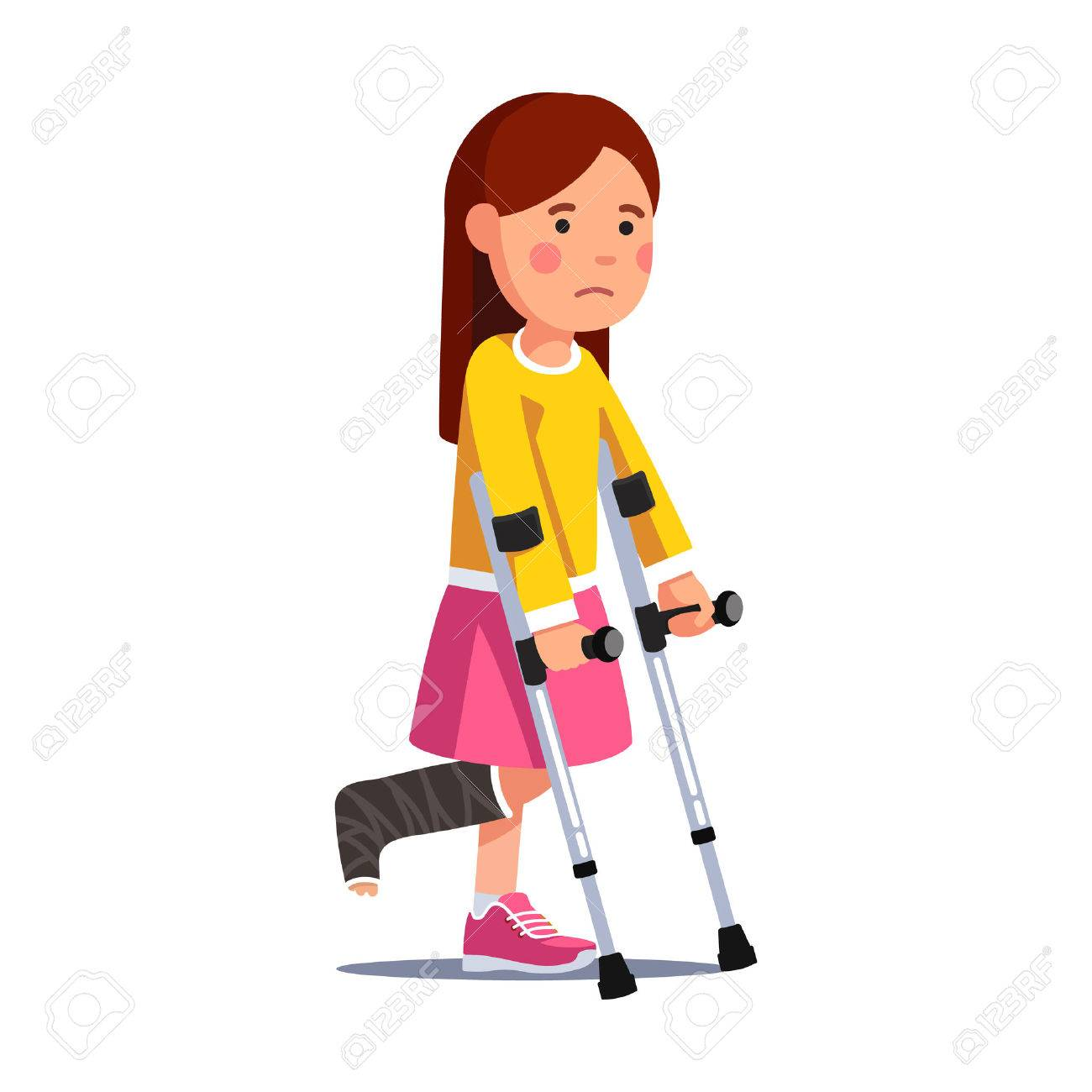 Broken leg cartoon clipart 5 » Clipart Station.